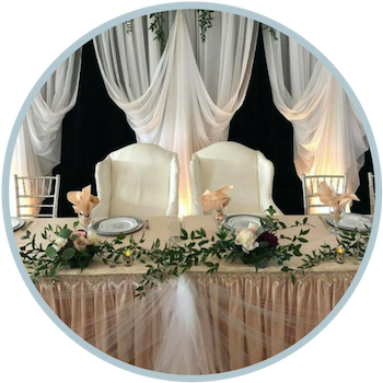 Table and Decor Rentals with The Silver Spoon Barn