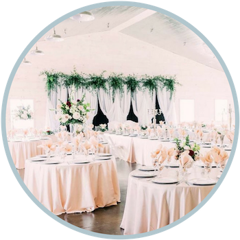 Wedding Equipment Rentals with The Silver Spoon Barn